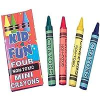 USおもちゃCompany Miniクレヨン/ 4-bx ( 3パックof 144 )