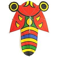 日本製 民芸品 和凧 北九州市 戸畑 孫次凧 凧 蝉凧 セミ凧(大)