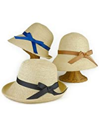 ノーブランド品 ソフトペーパーブルトンキャペリン レディース帽子