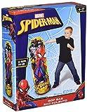 Hedstrom Spider-Man Bop Inflatable Punching Bag, Red, 110cm