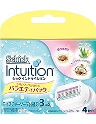 シック Schick イントゥイション 替刃 バラエティパック 女性用 カミソリ (3コ入)