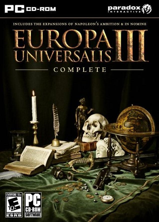 楽しませる偏心物理Europa Universalis III: Complete (輸入版)