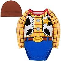 [ディズニー]Disney Store Toy Story Woody Costume Bodysuit Size 2T/24 Months with Hat [並行輸入品]