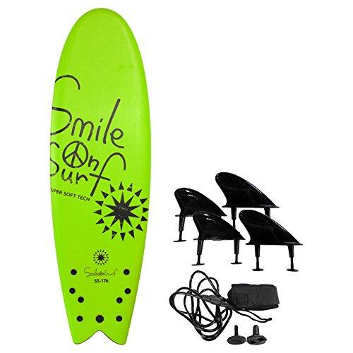 SURPATH TRADING(サーパストレーディング) Smile On Surf ソフトボード 176cm ライム