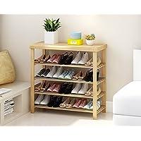 靴のラックソリッドウッド家庭のリビングルーム戸口経済的なタイプのモダンなシンプルな多層シューズラック (サイズ さいず : D)