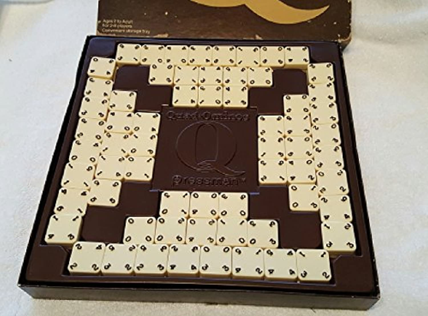 Quad-ominos the Ultimate Domino Game 1978 Edition by Pressman Toy
