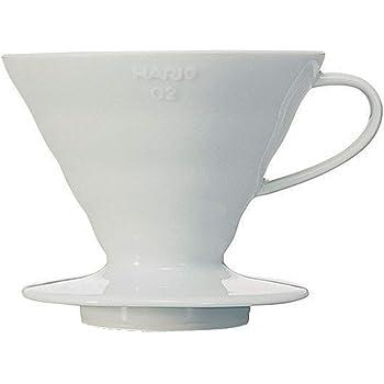 HARIO (ハリオ) コーヒードリッパー V60 02 セラミック ホワイト  コーヒードリップ 1~4杯用 VDC-02W