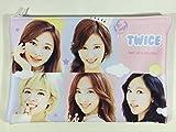 TWICE (トゥワイス)/缶バッジ付き ポーチ ケース(小物入れ) - Pouch (+Button Badge) (K-POPグッズ/韓国製)