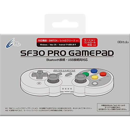 【Nintendo Switch / レトロフリーク対応】 8Bitdo SF30 Pro GamePad