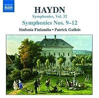 Symphonies 9-12: Volume 32 by JOSEPH HAYDN (2007-10-30)