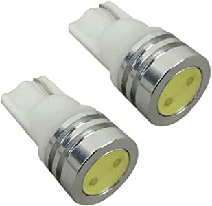 エブリィワゴン DA64 ポジションランプ LED バルブ T10 ウェッジ球 ホワイト 2個セット ポジション灯 ヘッドライト