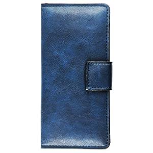 プルームテック ケース 手帳型 ブルー