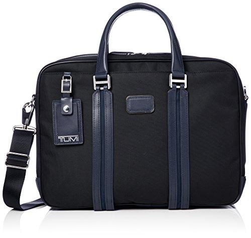[トゥミ] ビジネスバッグ 公式 正規品 日本限定コレクション JARVIS デラックス・ラップトップ・ブリーフ 068409 DNYE ブラック/ネイビー