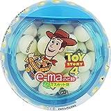 味覚糖 e-maのど飴容器 トイストーリー マスカット味 33g×6個