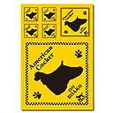 ザ ブラックラブカンパニー オンボード ステッカー / アメリカンコッカー /全70犬種!犬グッズ専門店 オリジナル 車 防水 シルエット