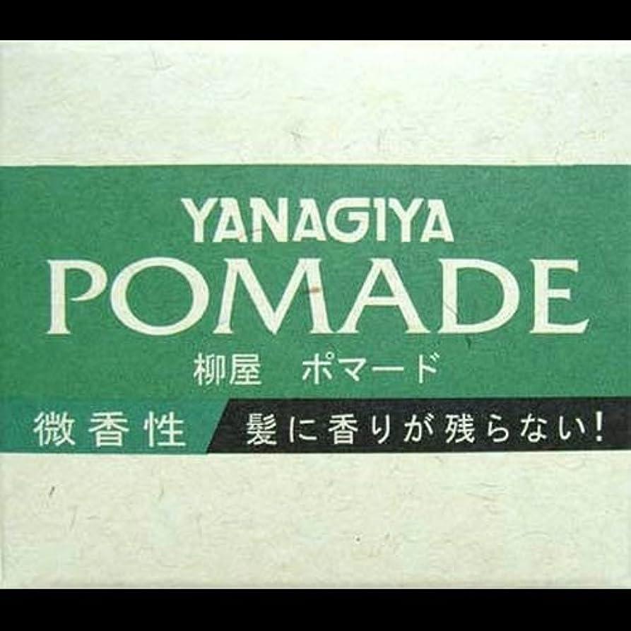 親指ことわざショートカット【まとめ買い】柳屋 ポマード微香性120g ×2セット