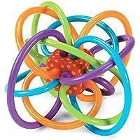 (エイチケーエイチ) いっぱい遊ぼう オーボール 知育遊具 ベビー キッズ 子供 おもちゃ ボール 玩具 赤ちゃん (レッド)