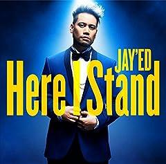 JAY'ED「Here I Stand」のCDジャケット