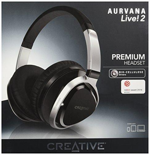 Creative Aurvana Live! 2 ブラック ヘッドセット HS-AVNLV2-BK