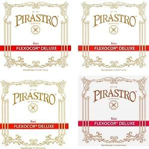 PIRASTRO ピラストロ フレクソコア デラックス FLEXOCOR DELUXE (4弦セット)