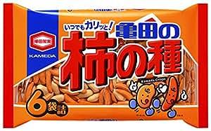亀田製菓 亀田の柿の種6袋詰 200g×6袋
