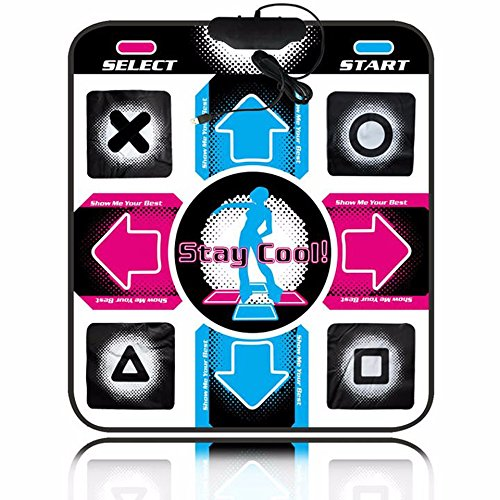 ステップマニア マットコントローラ ダンスダンスレボリューション マット USB PlayStation Mac Windows Linux [並行輸入品]
