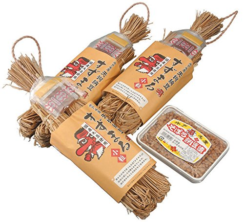 茨城県・茨城 水戸納豆 (すずまるわら納豆・そぼろ納豆300g)