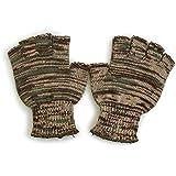 (ブローナー) BRONER カモニットグローブ 手袋 グローブ フィンガーレス 指ぬき カモフラ 迷彩 カモ 総柄