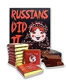 面白いロシア人は食べ物 ?