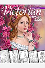 Victorian Coloring Book. Grayscale: Coloring Book for Adults ペーパーバック
