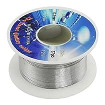 SODIAL(R) Solid Solder 0.3mm Dia Flux Core 63% Tin 37% Lead Long Wire Reel