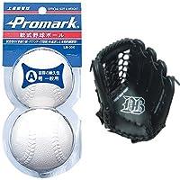 Promark(プロマーク) 軟式野球練習球 A号 2個入りパック