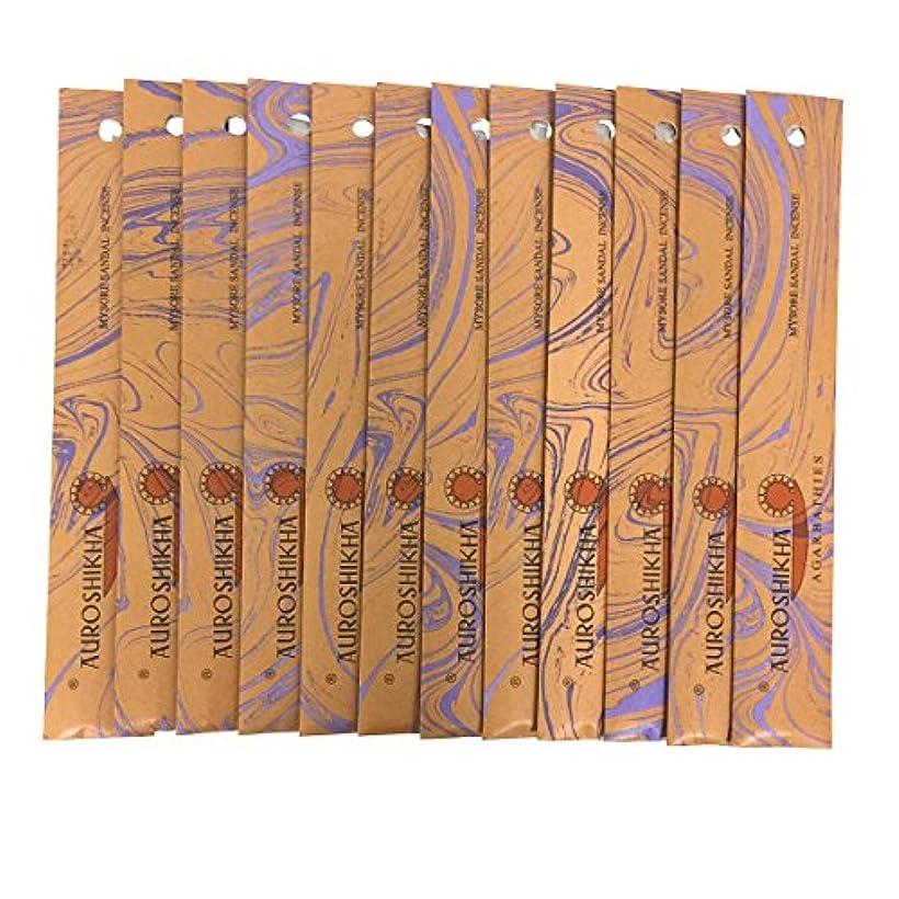 猟犬ルーキーピンクAUROSHIKHA オウロシカ(MYSORESANDALマイソールサンダル12個セット) マーブルパッケージスティック 送料無料