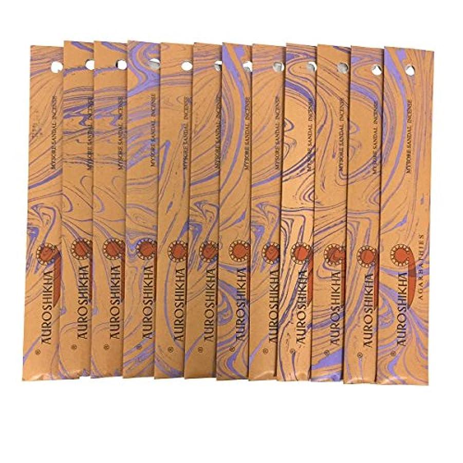 AUROSHIKHA オウロシカ(MYSORESANDALマイソールサンダル12個セット) マーブルパッケージスティック 送料無料