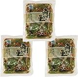 北海道物産のこだわり食材 国産山菜ミックス水煮 110g×3袋