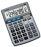 キャノン 電卓 12桁 ミニ卓上サイズ 時間計算 千万単位機能 LS-122TUG グレー
