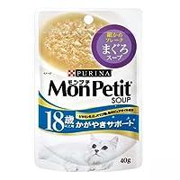 モンプチ 18歳以上用 まぐろスープ 40g×12袋【まとめ買い】