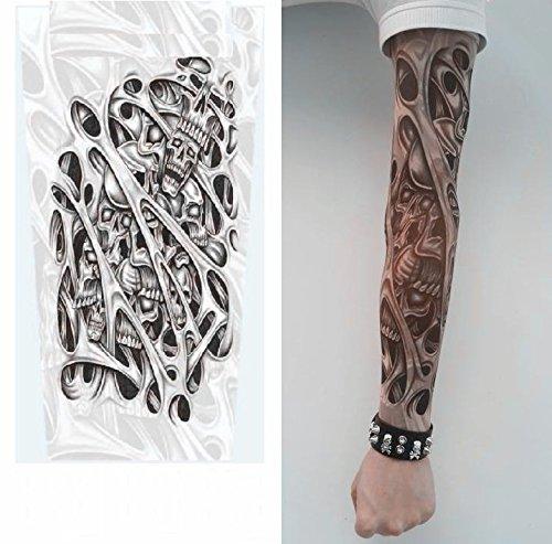TATOOスリーブ タトゥーSleeve刺青 入れ墨 アームカバー左右2・・・