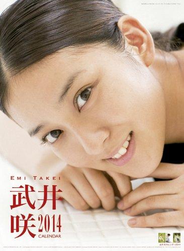 武井咲 2014年 カレンダー