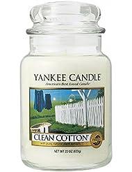 ヤンキーキャンドル( YANKEE CANDLE ) YANKEE CANDLE ジャーL 「 クリーンコットン 」