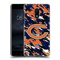 オフィシャル NFL カモフラージュ シカゴ・ベアーズ ロゴ ハードバックケース Nokia 6