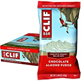 CLIF BAR Chocolate Almond Fudge, 68 Grams, (Box of 12)