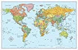 Rand McNally The World Wall Political Map: Signature Edition