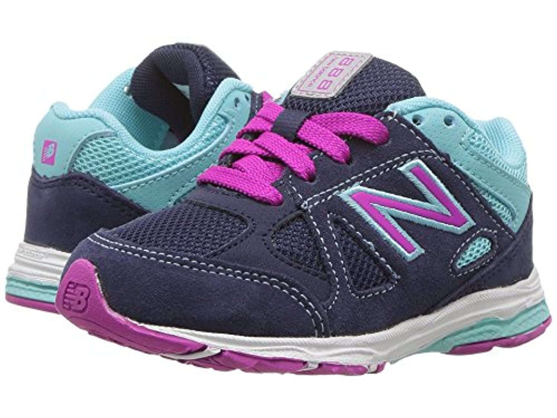 (ニューバランス) New Balance キッズランニングシューズ??スニーカー?靴 KJ888v1 (Infant/Toddler) Blue/Purple 10 Toddler (17cm) M