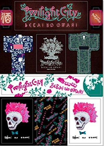 SEKAI NO OWARI (セカイノオワリ)2015  Twilight Cityグッズ  公式ツアーグッズ 日産スタジアム ステッカー