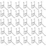 [ルボナリエ] ネットフック メッシュ パネル フック メタルラック メッシュパネルフック (100mm 30本)