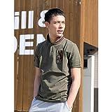 ジョルダーノ(メンズ)(GIORDANO) ジョルダーノ(3Dライオン刺繍ポロシャツ)【カーキ/L】