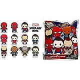 Marvel(マーベル) Spider-Man:Homecoming (スパイダーマン:ホームカミング) 3Dフィギュラル?キーリング(コレクターキーリング)ブラインド仕様 1パック単品販売