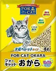 新東北化学工業 猫砂 フォーキャットおからせっけん 6L