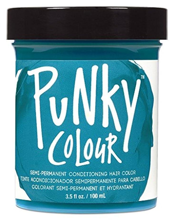 音楽家忠誠ペンスJEROME RUSSELL Punky Color Semi-Permanent Conditioning Hair Color - Turquoise (並行輸入品)
